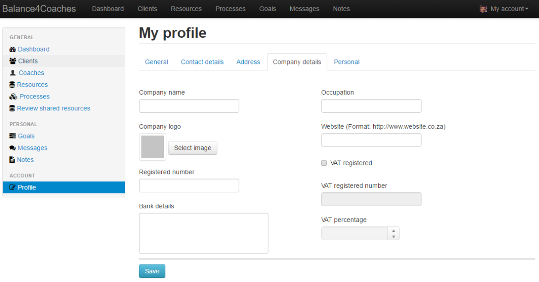My profile1