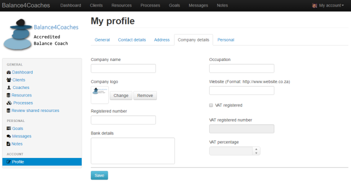 My profile2